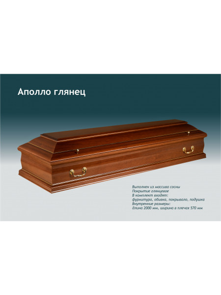 Гроб Аполло глянец